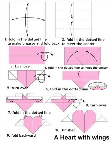 origami crane instructions easy