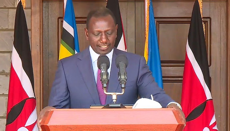 Why I haven't been joining Uhuru for virus briefings - Ruto