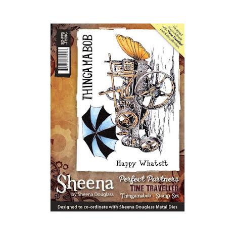 Sheena Douglass Time Traveller Stamp A6 - Thingamabob UTGÅENDE