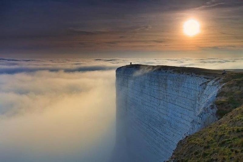 Photo: Небесный причал Бичи-Хед, мыс на южном побережье Великобритании.