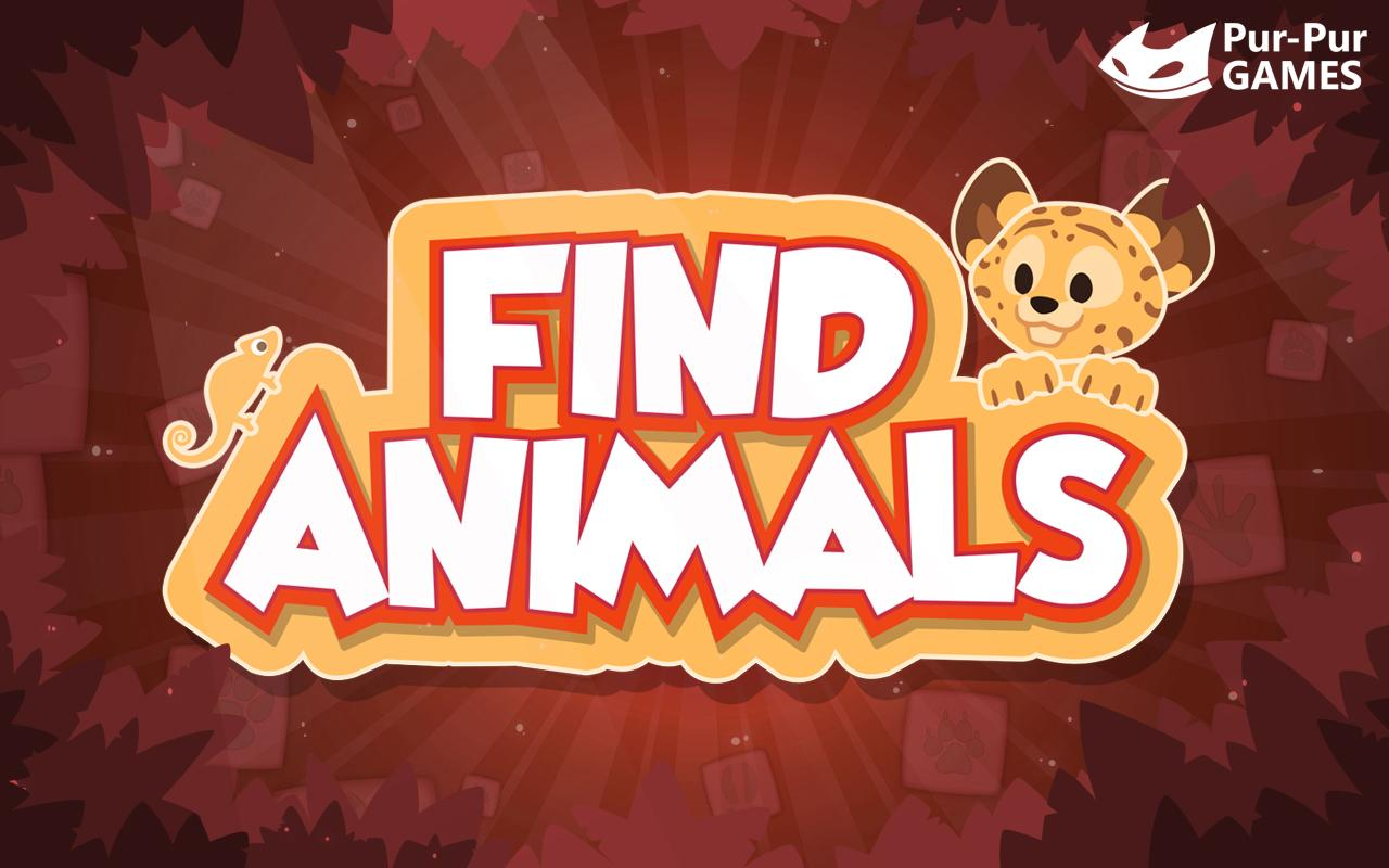 Find Animals- screenshot