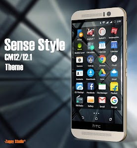 CM12/12.1 Theme Sense Style v1.0