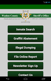 Washoe County Sheriff- screenshot thumbnail