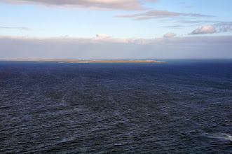 Photo: Inis Oírr from the Cliffs.  We'll soon be on a boat heading out there.