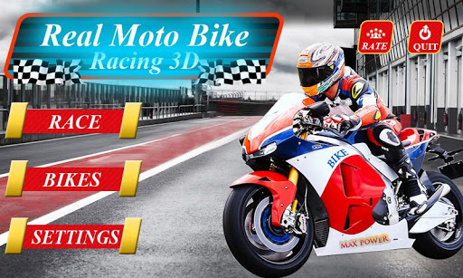 Real Moto Bike Racing 3D 1.5 screenshots 1