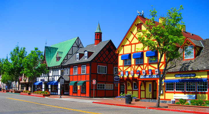 Solvang (15 Most Popular Weekend Trips from San Diego).