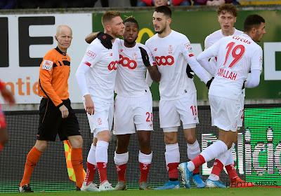 La sélection du Standard pour affronter Arsenal