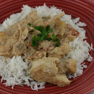 Chicken Korma in the Slow Cooker.