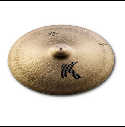 "22"" Zildjian K Custom - Dark Ride"