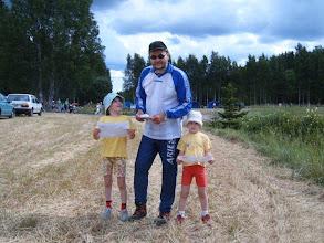 Photo: Fin 5 on suunnistusviikko kesäisin. Helena ja Matildakin opettelivat suunnistamaan.