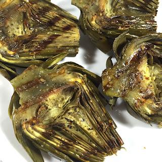 Mediterranean Grilled Artichokes Recipe