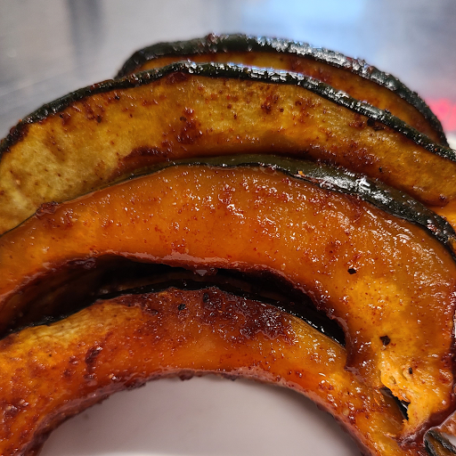 Roasted Acorn Squash Wedges (Spicy!)