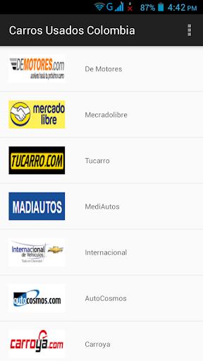 玩免費遊戲APP|下載Carros Usados Colômbia app不用錢|硬是要APP