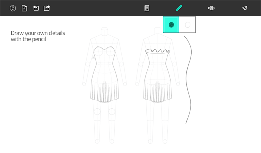 Fashion Design Flat Sketch 1.0 screenshots 17