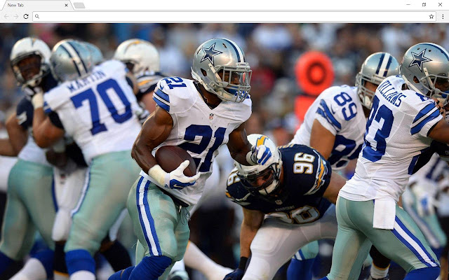 Dallas Cowboys NFL Backgrounds & New Tab