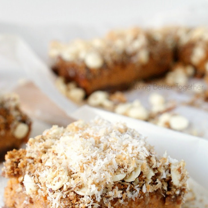 White Chocolate Coconut Sweet Potato Pie Bars Recipe | Yummly