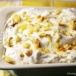 No Churn Lemon Pound Cake Ice Cream