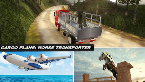 貨物飛行機:馬トランスポーター