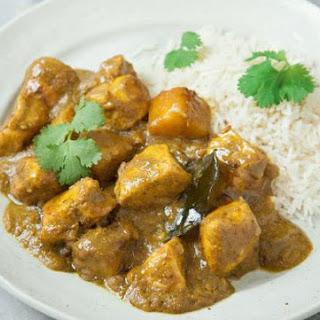 Thai Yellow Chicken Curry.