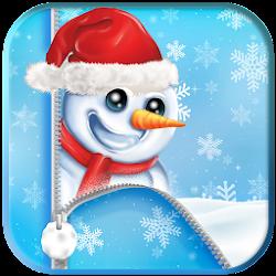 Let It Snow App Lock Screen