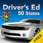 Drivers Ed: Free DMV Permit Practice Test 2018 Icon