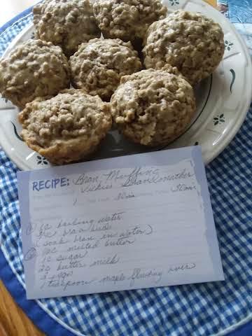 Vickies Grandmas Bran Muffins