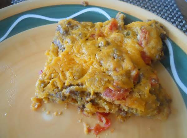 Mexican Taco Cornbread Bake Recipe