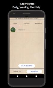 Who viewed my profile? แอป (APK) ดาวน์โหลดได้ฟรีสำหรับ Android/PC/Windows screenshot