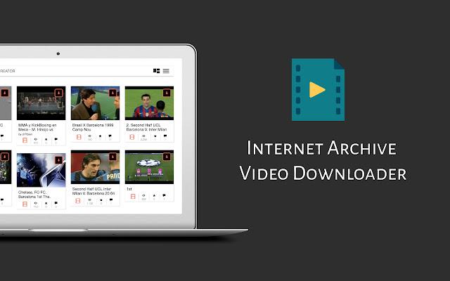 Internet Archive Video Downloader