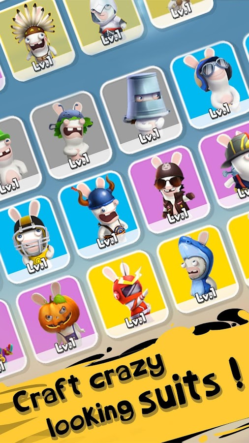 Rabbids Crazy Rush- screenshot