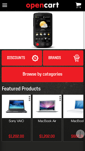 Mobile OpenCart 2.0.1.0