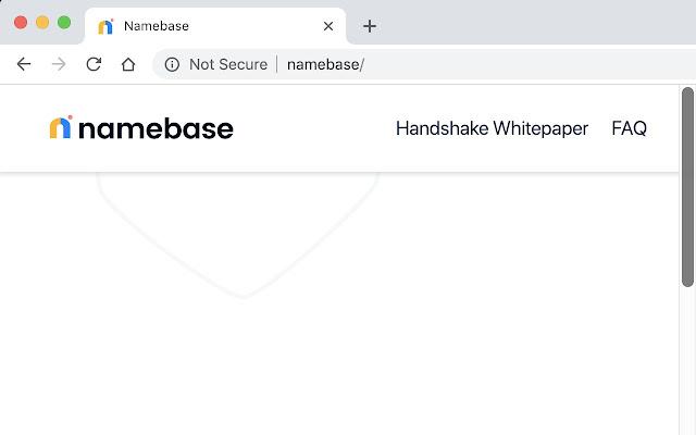 Namebase Handshake Extension