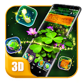 Nature & flower style launcher theme &wallpaper