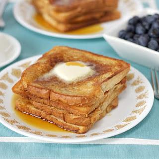 Aquafaba French Toast