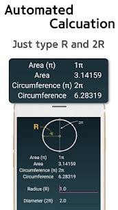 Circle Area Circumference Calculator 4