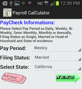 bi weekly payroll calculator