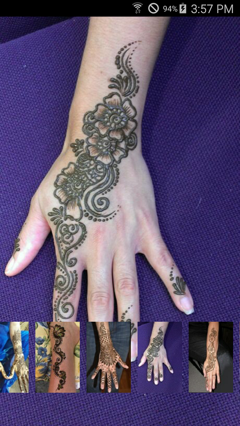 Mehndi App For Android Mobile : Mehndi app design collection android apps on google play