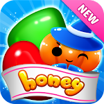 Sweet Candy Honey - Free Puzzle Game 2018 Icon