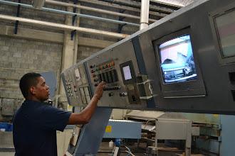 Photo: Controlando la producción de tela TERMILENIO