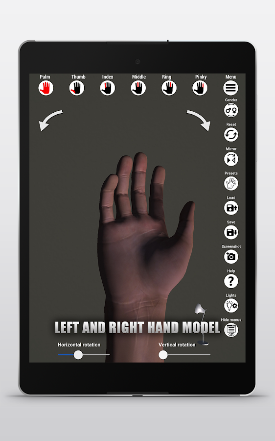 Manus - Hand reference for artists- screenshot