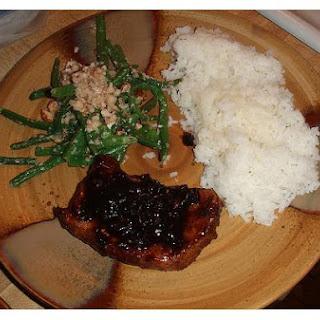 Green Bean Almond Rice.