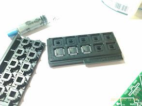 Photo: The microcontroller.