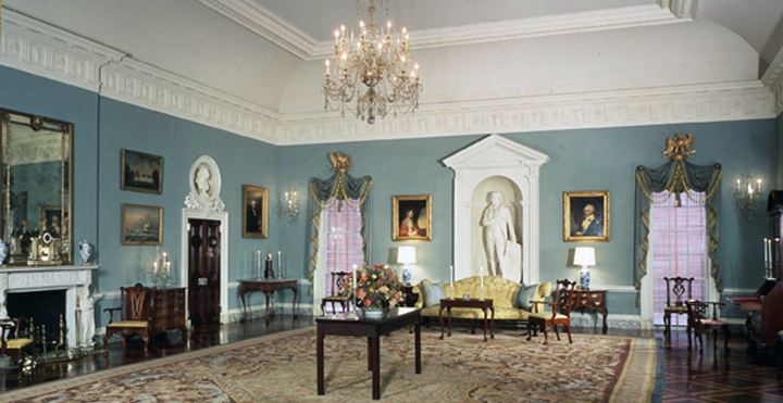 A diplomatic reception room