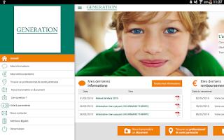 Screenshot of L'appli GENERATION