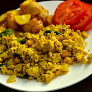 Vegan Tofu Scramble Breakfast Recipes