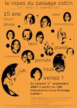 Photo: Samedi 1er Sept. 2007 - 21° édition du repas du passage Cottin