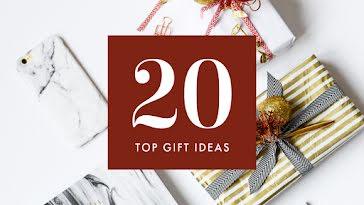 Twenty Top Gift Ideas - Christmas Template