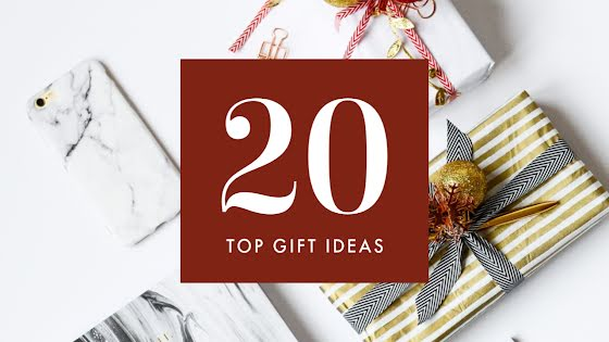 Twenty Top Gift Ideas - Christmas Template