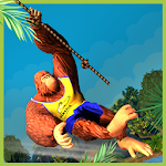Monkey Stunt Run Icon