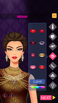 Fashion Diva: Dressup & Makeup APK screenshot thumbnail 1